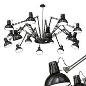 chandelier,spider