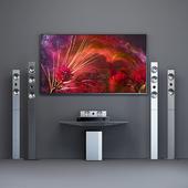 Home Theater Samsung HT-F9750W + tv Samsung Frame