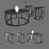B & B Italia Maxalto Coffee Small Tables Loto