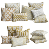 Gold pillows collections