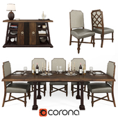 ART Furniture Inc American Chapter Formal Dining Room Group