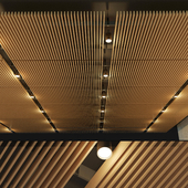 Suspended ceiling rack. 14