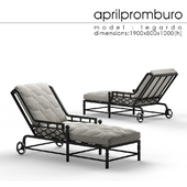 """OM"" Aprilpromburo Legardo chaise_lounge"