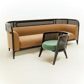 Sofa + chair set