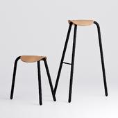 TORU Designer leather chair Pony (Pony)