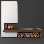 MA 272 SL fireplace, Piazzetta