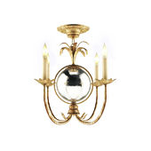 EF Chapman Gramercy 4 Light 17 inch Gilded Iron Chandelier Ceiling Light