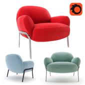 Bernhardt Kashan armchair