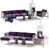 Sofa Bay Rosenthal Interieur