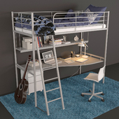 IKEA kids bed Svarta