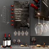 Wine Wall Decorative Cabinet