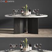 Minotti Morgan Dinning Table