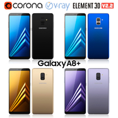 Samsung Galaxy A8 PLUS all colors
