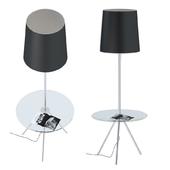 Floor lamp with table ST Luce SL463