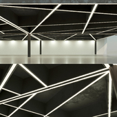 Beamed ceiling. Overlapping. 16