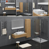 Набор для ванной комнаты Ravak Formy set 02