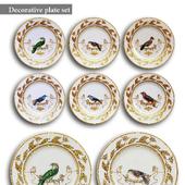 Decorative plate set 1
