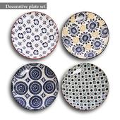 Decorative plate set 2