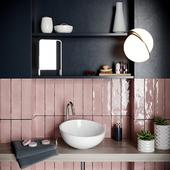 bath set decoration