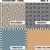 Topcer Victorian Tiles Set5