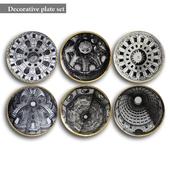 Decorative plate set 5