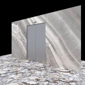 Wall Ceramic & Elevator Set