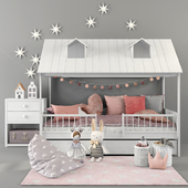 Bed LifeTime BEACHHOUSE HUTBED 01