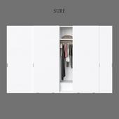 Poliform wardrobes armadi surf 2