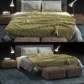 Flexform Bed Adda