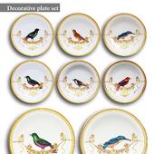 Decorative plate set 11