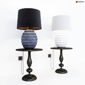 Table lamp Dantone home Stonehenge and Chelsea coffee table
