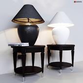 Table lamp Dantone Home Stonehenge and Coffee Table Rondo