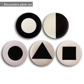 Decorative plate set 13