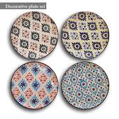 Decorative plate set 16