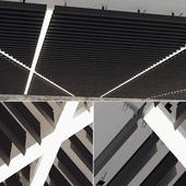 False ceiling rack 18