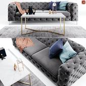 Kogut Chesterfield Sofa