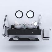 Wash basins and decor
