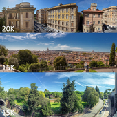 Panoramas of Rome