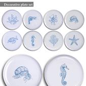 Decorative plate set 17