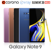 Samsung Galaxy Note 9 all colors