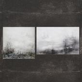 Ja Ding's Autumn Fog and Ja Ding's Making a Scene John-Richard Collection