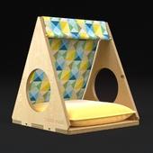 кроватка для кошек и собак GEOMETRY
