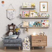 Toys and furniture set 35