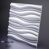 Plaster Force 3d panel from Artpole