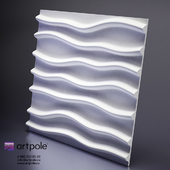 Plaster Stems 3d panel from Artpole