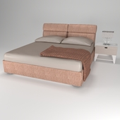 Bed and nightstand (Bed & tumb)