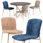 Love chair and Stellar table - Calligaris