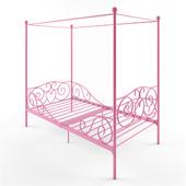 Zoomie Kids Brandon Twin Canopy Bed