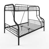 Zoomie Kids Tara Twin Over Full Slat Bunk Bed