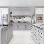 Silver Gray kitchen by Officine Gullo